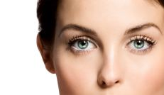 Eye Contact of a Woman