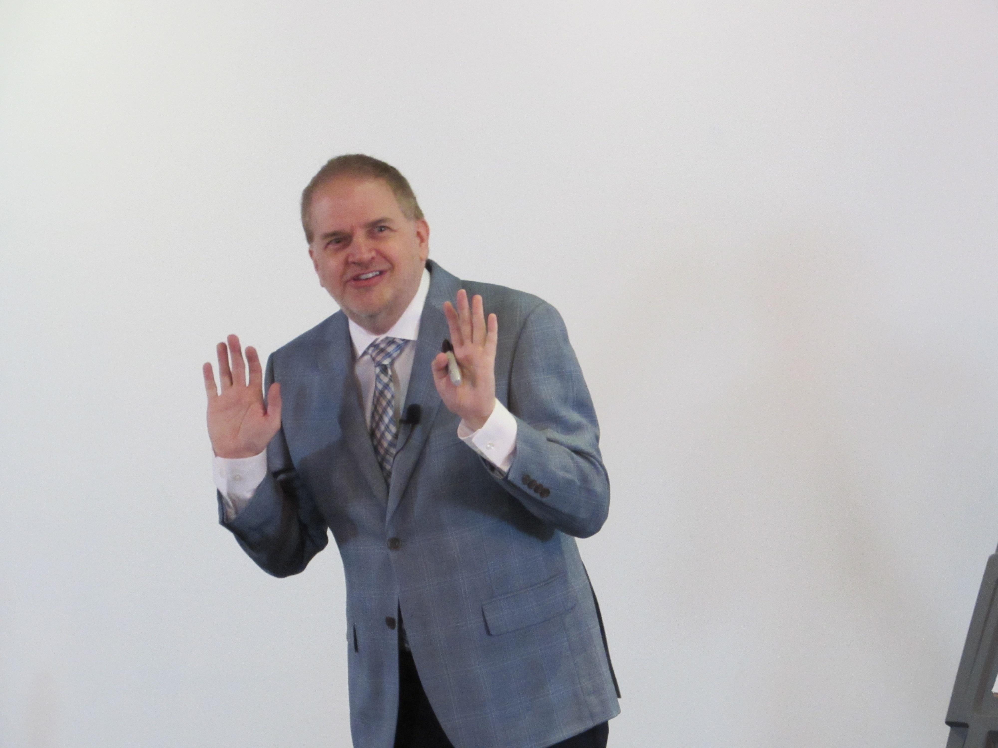 Kevin Hogan teaches Scientific Brainstorming