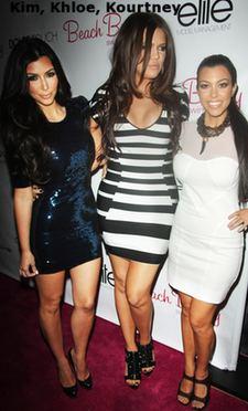 Kim, Khloe, Kourtney Kardashian and Influence Factors