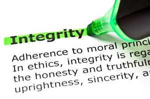 Integrity. istockphoto/IvelinRadkov