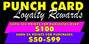 Loyalty Cards with Points Motivate People to Buy