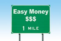 Is it easy to make money online?
