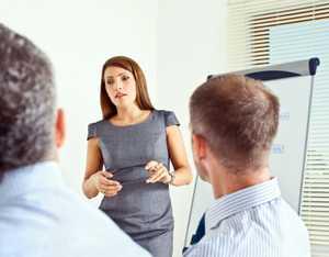 Presentation Skills. istockphoto/izusek