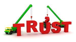 Build Trust. istockphoto/Sirgunhik
