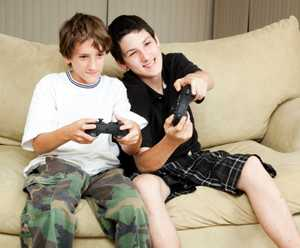 Video Gaming. istockphoto/lisafx
